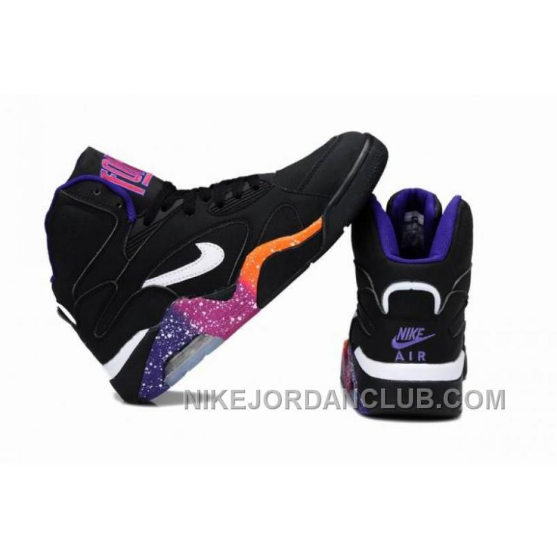 d8081d329be2 ... Charles Barkley Shoes Nike Air Force 180 Mid Black Purple Yellow PyEcx