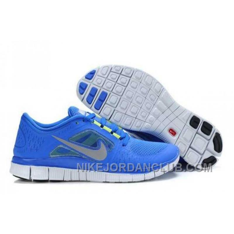 buy popular 26826 c0776 Nike Free Run 3 Mens RoyalBlue White Shoes 4N5NW ...